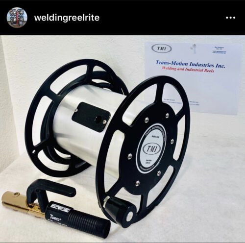 Welding lead cable reels 600 Amp