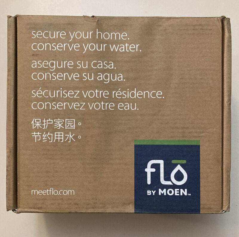 """Moen 900-002 Flo by Moen 1-1/4"""" Smart Water Shutoff - Complete In Box. New"""