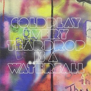 COLDPLAY --EVERY TEARDROP IS A WATERFALL -CD SINGLE - Brand New and Sealed
