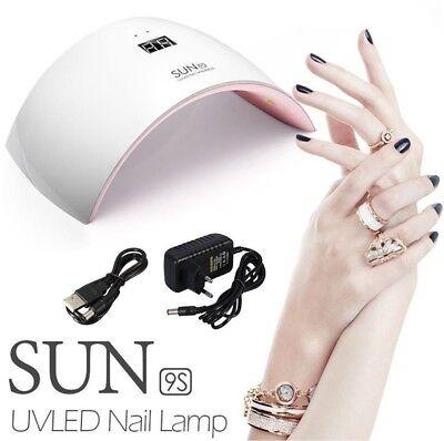 Lampara UV / LED de uñas secador para manicura gel esmalte permanente...