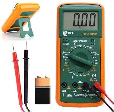 Multimetro digital Polimetro Tester Amperimetro 20A Amperios Profesional