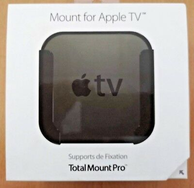TotalMountPro Mount for Apple TV + Remote Holder + Cable Tidy(2nd Gen Onwards)