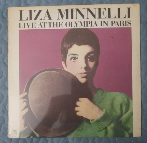 Liza Minnelli Live At The Olympia In Paris Vinyl LP ALBUM 1972 A M Records  - $14.99