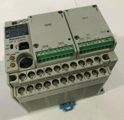 Panasonic Plc Programmable Controller Fpx-c30rd Afpx-c30rd Da2 A21 Cassettes
