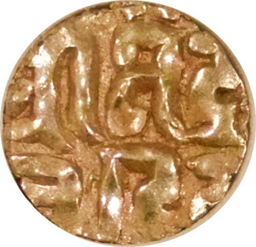 INDIA ~ KALACHURIS OF TRIPURI GOLD 1/4 STATER ~ RATNA DEVA 1120-1135 AD ~ UNCIRC