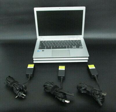 "Lot of 3 Toshiba Chromebook 2 CB35-B3330 13.3"" Celeron 2GB 16GB SSD w/ Chargers"