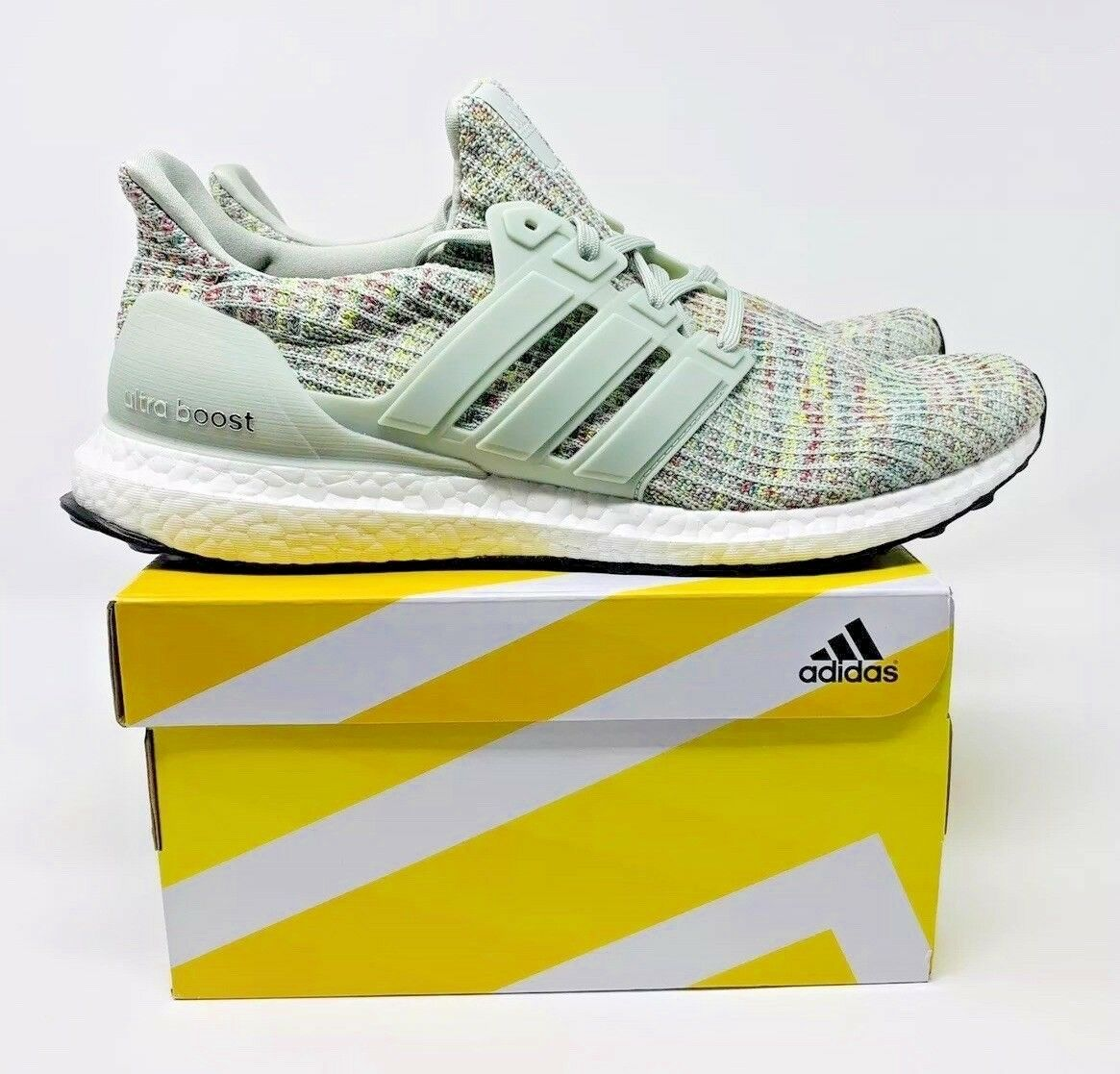 3fa244f468b ... Multi-Color Running Shoes CM8109 Men s Size 9 New Adidas Ultra Boost 4.0  Grey Multi-Color Running Shoes CM8109 Men s Size 9 New Adidas Ultra Boost  4.0 ...