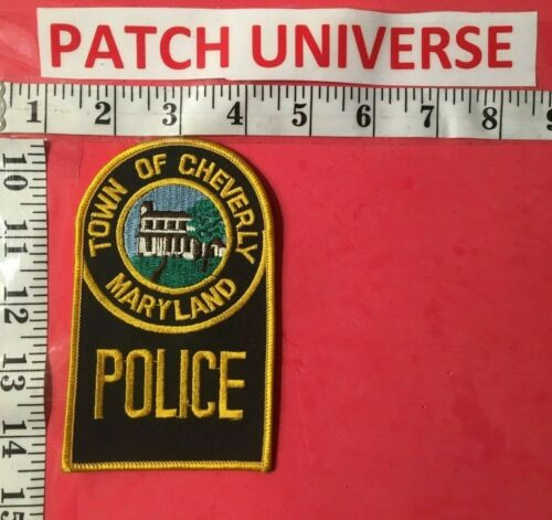 TOWN OF CHEVERLY MARYLAND POLICE SHOULDER PATCH  S006