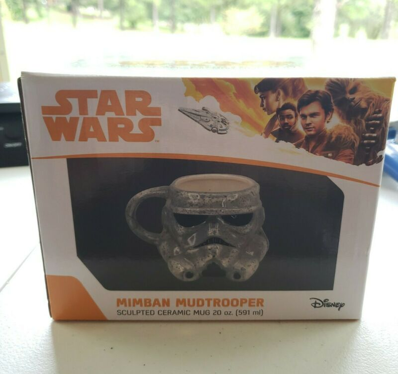 VANDOR LLC 56011 STAR WARS 20 OZ SCULPTED MUG MIMBAN STORMTROOPER