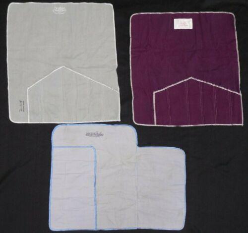 Lot of 3 - Vintage - Anti-Tarnish Cloth - Silverware/Place Setting - Holders