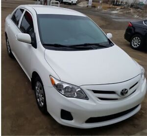 Clean 2013 Toyota Corolla for Sale!