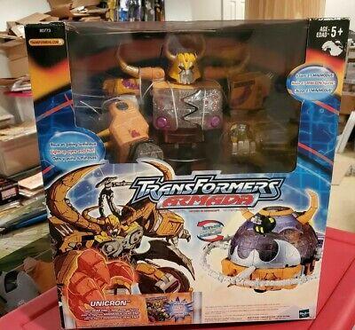 SEALED New Hasbro Transformers Armada Unicron W/ Dead End Mini Con Sealed In Box