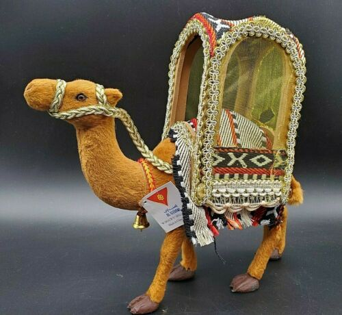 """Replacement 10"""" Camel Felted/Fabric Canopied Saddle Nativity Christmas"""