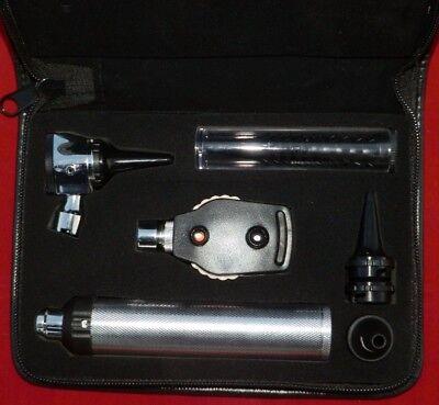 Ophthalmoscopeotoscope Diagnostic Set Bright Whitest Led Illumination