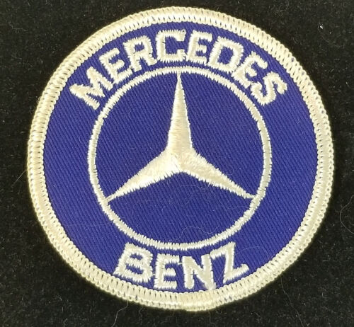 Mercedes Benz Luxury Car Logo Embroidered Patch