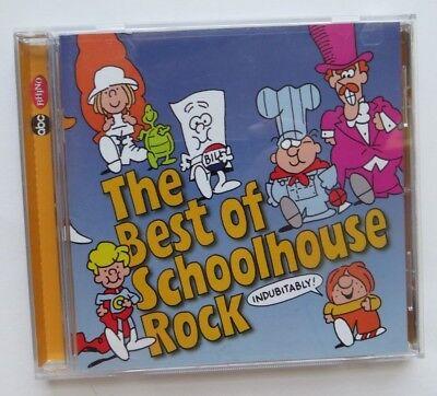 Best of Schoolhouse Rock by Schoolhouse Rock (CD, Apr-2000, Rhino