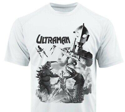 Ultraman Dri Fit graphic Tshirt moisture wicking retro 80s superhero SPF tee