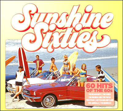 60 Greatest Hits of the SIXTIES * New 3-CD Boxset * All Original 60's Hits * NEW