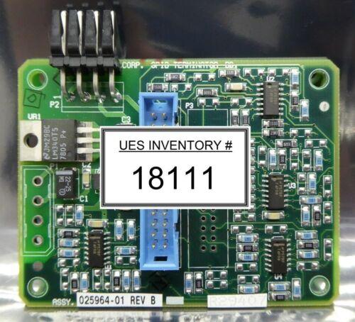 ADE Corporation 025964-01 GPIB Terminator Board PCB 025963-01 Used Working