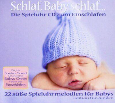 Schlaf Baby schlaf - Spieluhr Melodien für Jungen - Audio CD