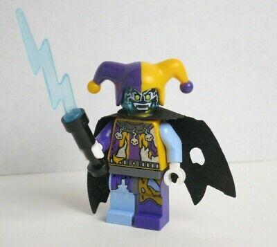 Jestro - Electrified Evil Jester Cape 70352 70356 Nexo Knights  LEGO Minifigure