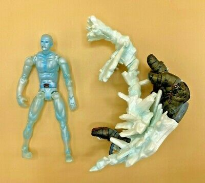 "Marvel Legends Toy biz Series 8 VIII X-Men ICEMAN 6"" Action Figure 2005 Diorama"