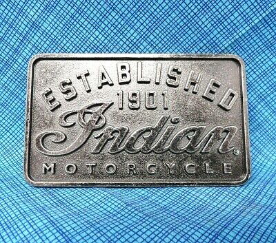 Indian Motorcycles Belt Buckle - 2015 Indian Motorcycles Int. BMW066