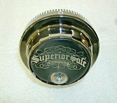 Sg 6741 Combination Safe Lock-superior Safe Co.-black Chrome Finish-locksmith
