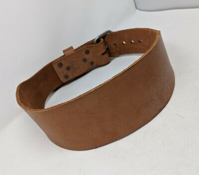 Bbn Hardcore Weightlifter Belt Made of Leather with Lumbar Pad