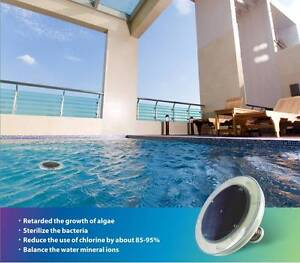 Solar Copper Silver Swimming Pool Ionizer Ioniser Clean Water Diddillibah Maroochydore Area Preview