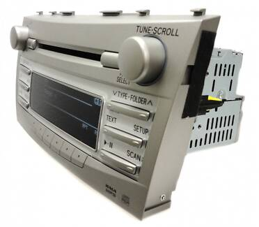 07 08 09 10 11 TOYOTA Camry MP3 AUX Bluetooth Radio CD Player A51 Ryde Ryde Area Preview
