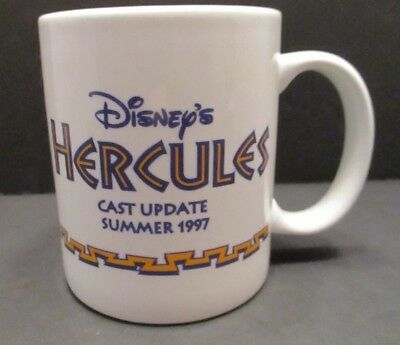 Disney Hercules Mug (Disney Hercules Cast Update Summer 1997 Ceramic Coffee Mug)
