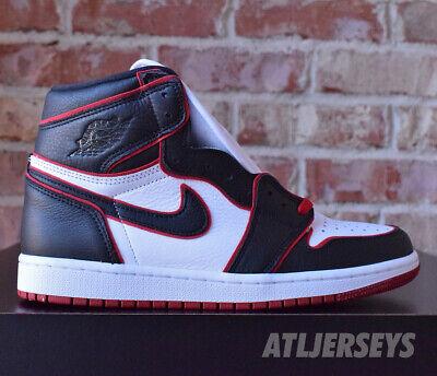 Nike Air Jordan 1 Retro High OG Bloodline Black Gym Red White 555088-062 Size