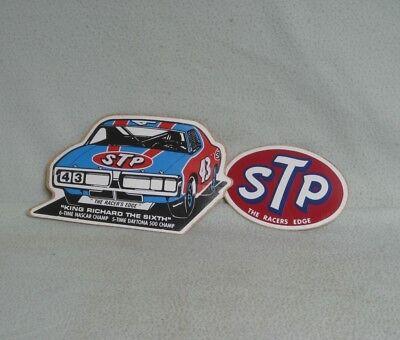 (0938) Vintage Richard Petty & STP stickers/decals