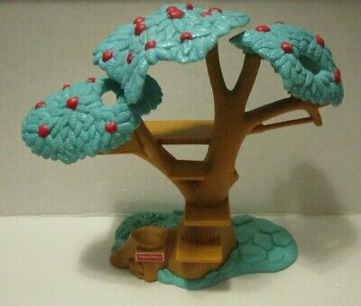Fisher Price Loving Family Dollhouse Apple Tree Tree House