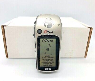 Refurbished Garmin eTrex Vista Handheld Waterproof GPS Receiver, FREE SHIPPING