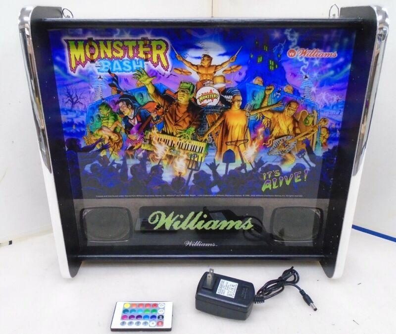 Williams Monster Bash Pinball Head LED Display light box