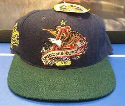 Anheuser-Busch Hat Collectors Edition Eagle A Star Cap Limited New
