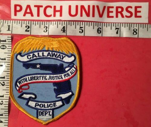 CALLAWAY FLA  POLICE  SHOULDER  PATCH  F001