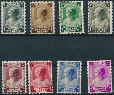 [1840] Belgium 1937 good Set very fine MH Stamps