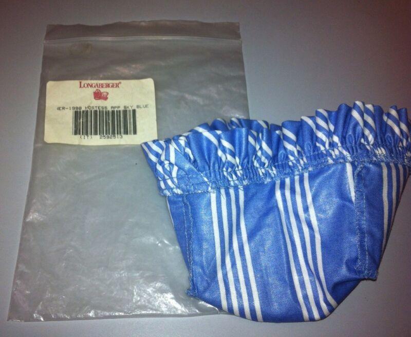 Longaberger 1998 Hostess Appreciation Fabric Liner Sky Blue New in Original Bag