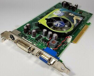NVIDIA Geforce 6800 XT 512MB 256BIT AGP Video Card Vintage 6802XA52E2P01