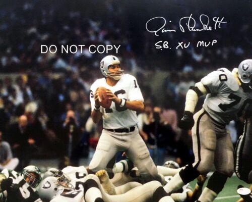Jim Plunkett Signed 8x10 Autographed REPRINT PHOTO Oakland Raiders RP