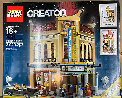 LEGO Creator Palace Cinema 10232 Modular Building - NEW SEALED - FREE SHIPPING
