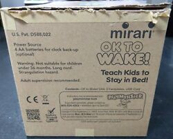 Mirari OK To Wake! Alarm Clock & Night-Light, Nap Timer Glows ~ NEW No Box -2153