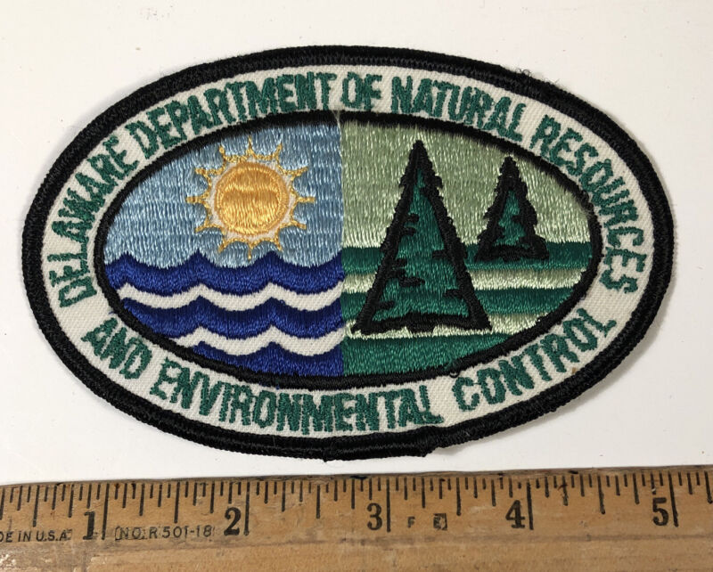 Vintage Delaware Department Of Natural Resources DNR Patch Environmental Control