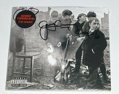 THE BONNY : GERRY CINNAMON - * SIGNED / AUTOGRAPHED * CD ALBUM, *IN STOCK