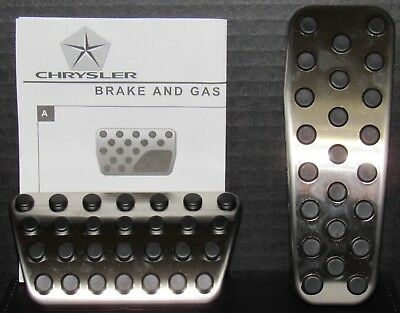 Dodge Charger Challenger Chrysler 300 Stainless Brake & Gas Pedal Kit OEM