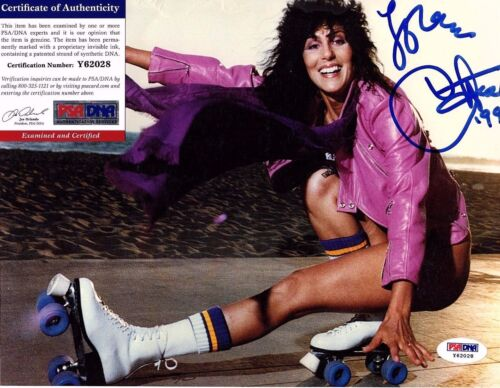 CHER signed Autographed 8x10 photo PSA/DNA #Y62028