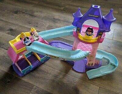 Fisher Price Klip Klop Castle Princess Horses Disney Little People